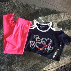Limited Too girl's matching set